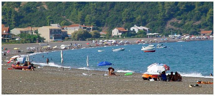 Пляж Агали - Эвия Греция