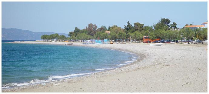 Пляж Певки - Эвия Греция