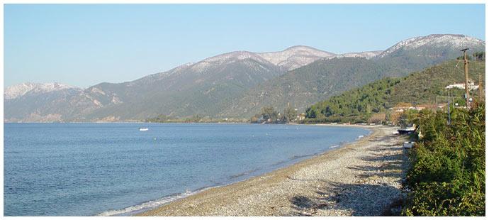 Пляж Ровиес - Эвия Греция